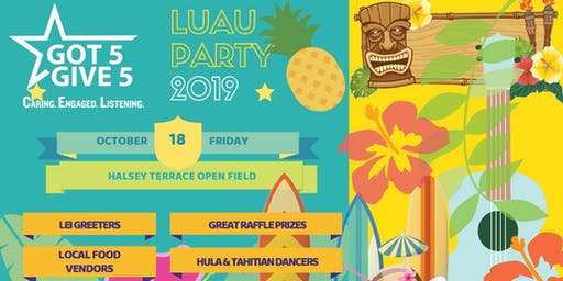 CEL Luau Party at Halsey Terrace