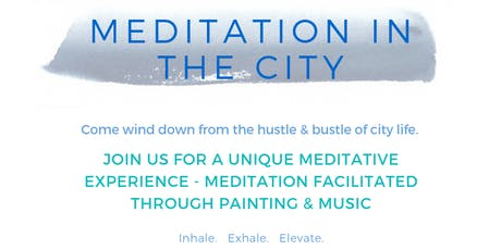 MediPaint - Guided Meditative Painting Session (Classic/Beginner's Session) tickets