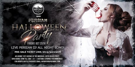 NYC PERSIAN HALLOWEEN PARTY tickets