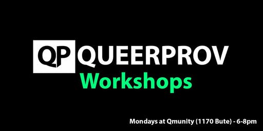 QP Workshops: Learn improv comedy!
