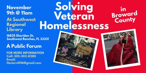 Solving Veteran Homelessness in Broward County