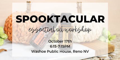 Spooktacular Essential Oil Workshop