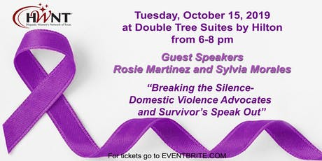 HWNT-RGV presents Breaking the Silence- Domestic Violence tickets