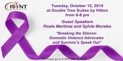 HWNT-RGV presents Breaking the Silence- Domestic Violence