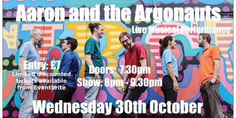 Aaron And The Argonauts Live at Orleans Wine Bar tickets