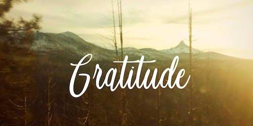 First Friday: Gratitude Portrait Art Show