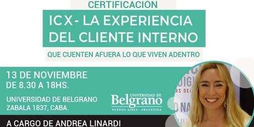 ICX 2019 - Certificación en Internal Customer Experience