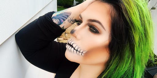 """Creeptober"" Halloween Makeup Class with Nikki Carmela"