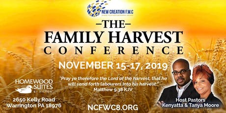 THE FAMILY HARVEST CONFERENCE tickets