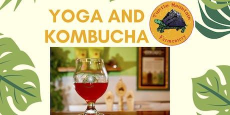 Yoga and Kombucha tickets