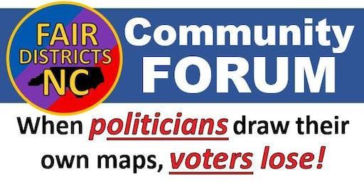 Fair Districts Forum -  Mooresville