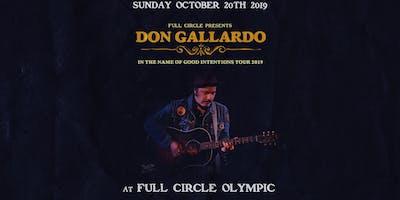 Don Gallardo at Full Circle Olympic