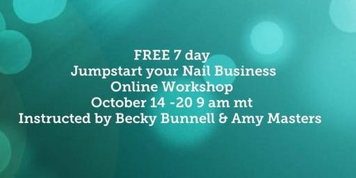 Jump Start Your Nail Business Online Workshop