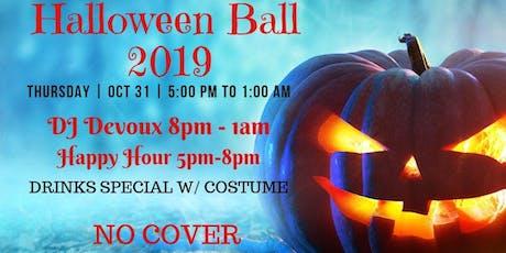 Halloween Ball 2019 featuring Dj Devoux tickets