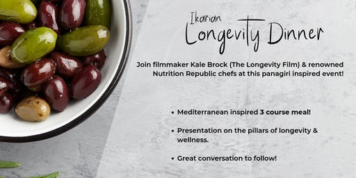 Longevity Dinner by Kale Brock