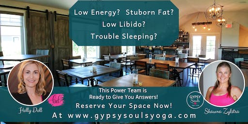 Fix Your Low Energy and Stubborn Fat Problems!