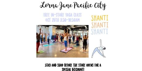 Free In-store Yoga Class with Ocean View tickets