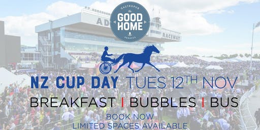 Cup Day - Breakfast, Bubbly & Bus