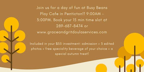 Fall Family Mini Sessions @ Busy Beans Play Cafe tickets