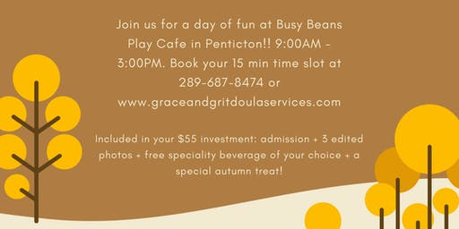 Fall Family Mini Sessions @ Busy Beans Play Cafe