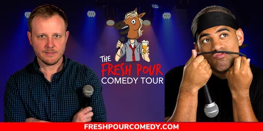 The Fresh Pour Comedy Tour at Hop & Sting Brewing