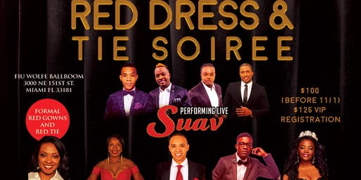3rd Annual Red Dress & Tie Soiree & Fundraising Awards Gala