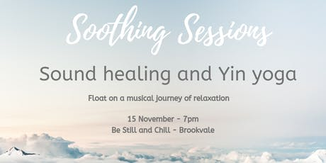 Sound healing and yin yoga tickets