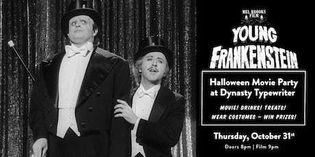 Halloween Movie Party: Young Frankenstein tickets