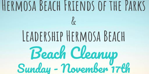 Fall Hermosa Beach Cleanup  | HB Friends of the Parks & Leadership HB