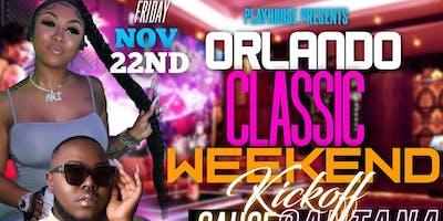Florida classic kickoff Friday Nov 22 with Ari & Saucy Santana @ The palace