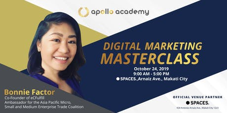 Digital Marketing Masterclass tickets