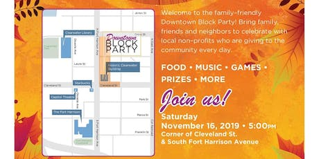 Block Party Downtown - Best Party of the year for the whole family tickets