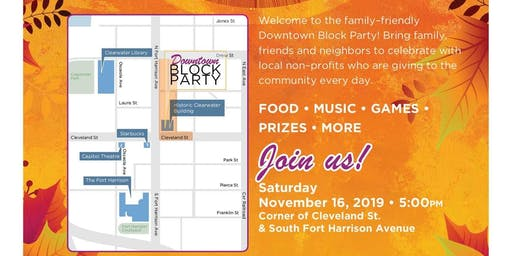 Block Party Downtown - Best Party of the year for the whole family