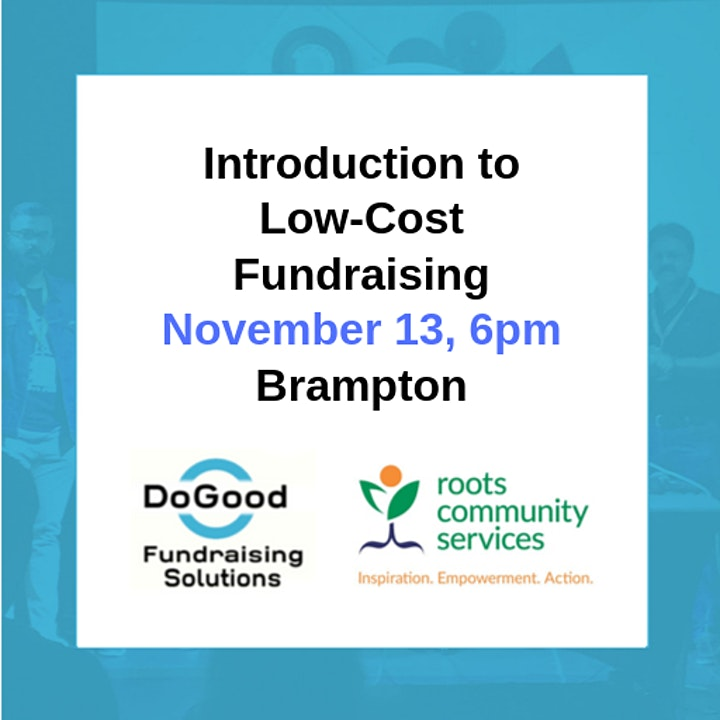 Introduction to Low-Cost Fundraising image