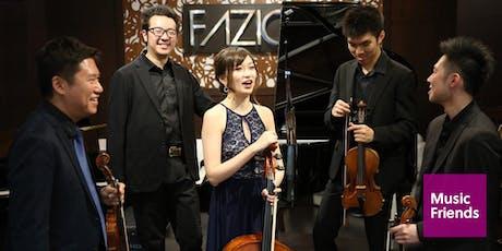House Concert: A Chamber Music Celebration: Trio, Quartet, and Quintet! tickets