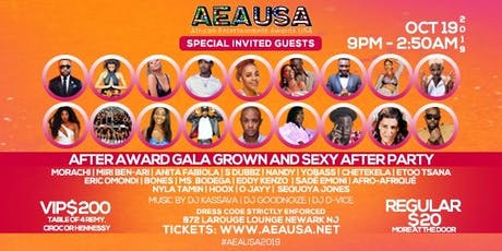African Entertainment Awards, USA After Party tickets