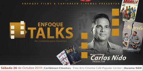 ENFOQUE TALKS: Carlos Nido tickets