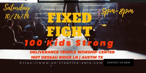 FIXED FIGHT COMMUNITY EVENT--  Help Register a Child today for only $25