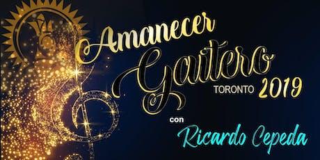 Amanecer Gaitero con Ricardo Cepeda tickets