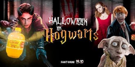 Halloween em Hogwarts ϟ @SantoriniBox (Openbar casa toda R$25) ingressos