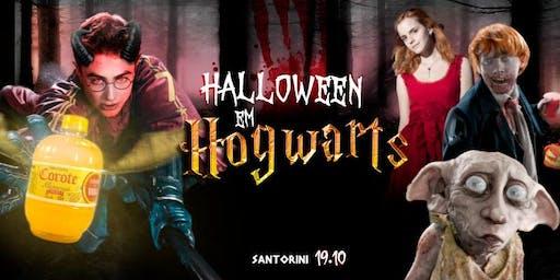 Halloween em Hogwarts ϟ @SantoriniBox (Openbar casa toda R$25)