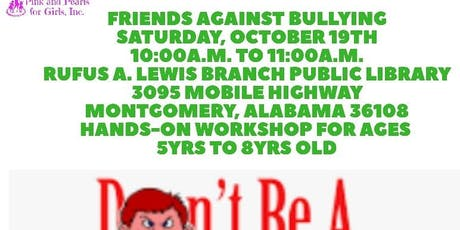 Friends Against Bullying tickets