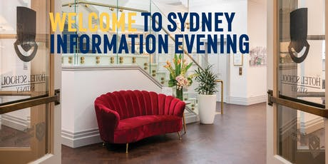 The Hotel School Sydney Information Evening tickets