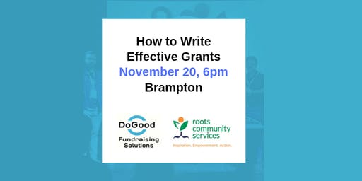 How to Write Effective Grants