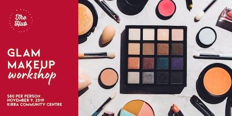 Glam Makeup Workshop tickets