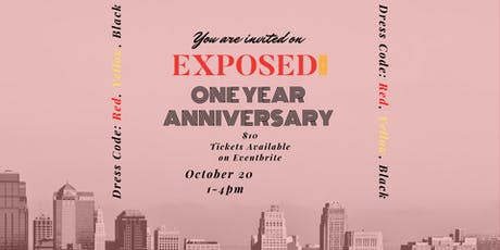 Exposed Creatives YEG: One Year Anniversary tickets