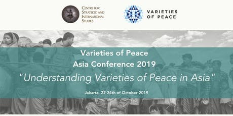 Opening: Varieties of Peace Asia Conference 2019 tickets