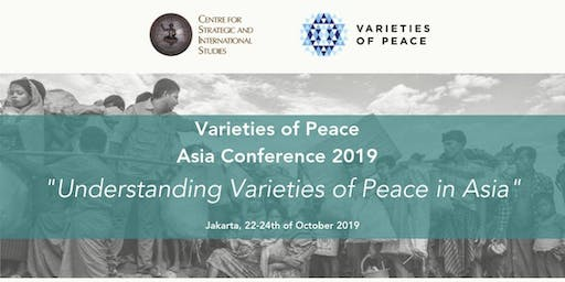 Opening: Varieties of Peace Asia Conference 2019