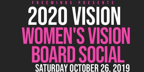 WOMEN'S VISION BOARD SOCIAL tickets