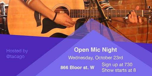 Open Station | Open Mic Night